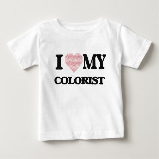 I love my Colorist (Heart Made from Words) Tee Shirts