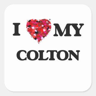 I love my Colton Square Sticker