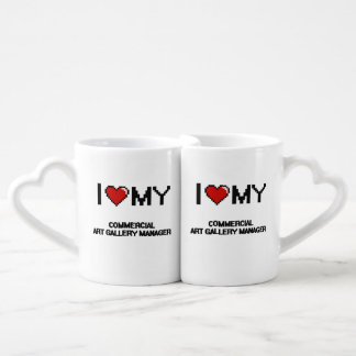 I love my Commercial Art Gallery Manager Lovers Mug Set