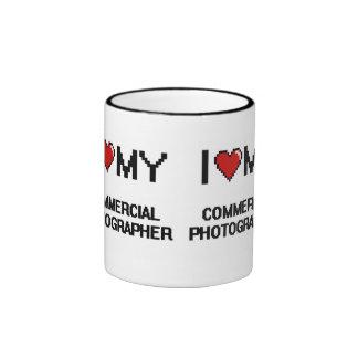 I love my Commercial Photographer Ringer Coffee Mug