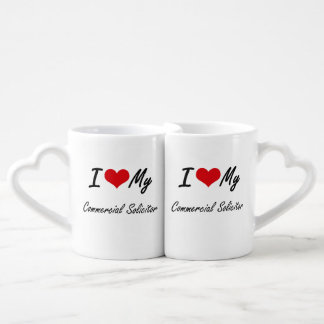 I love my Commercial Solicitor Lovers Mug