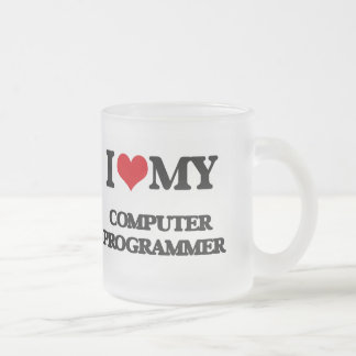 I love my Computer Programmer Mug