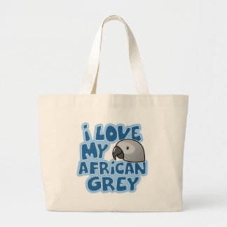 I Love My Congo African Grey Bag