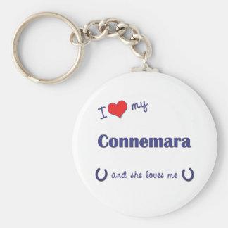 I Love My Connemara (Female Pony) Key Ring