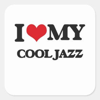 I Love My COOL JAZZ Stickers