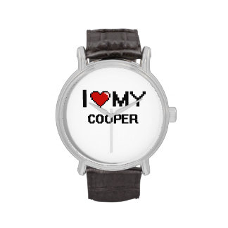 I love my Cooper Wrist Watch