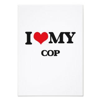 I love my Cop Custom Invites