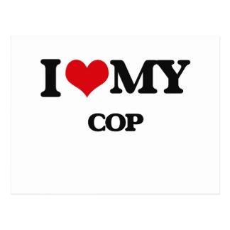 I love my Cop Postcards