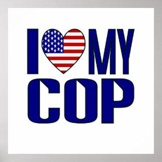 I Love My Cop Poster