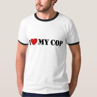 I Love My Cop Shirt
