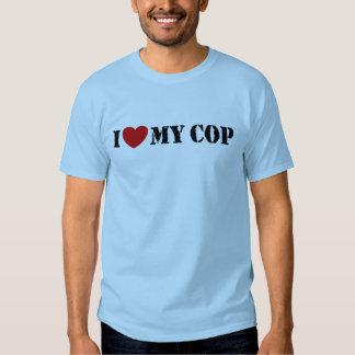 I Love My Cop Tshirts