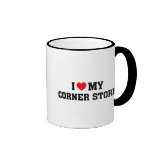 I love my corner store. ringer mug