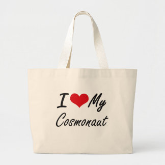 I love my Cosmonaut Jumbo Tote Bag