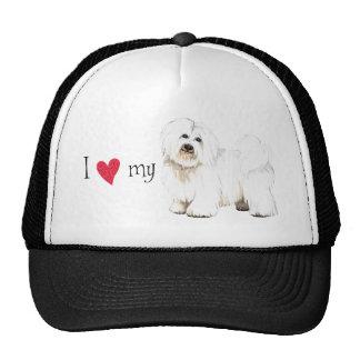 I Love my Coton de Tulear Cap