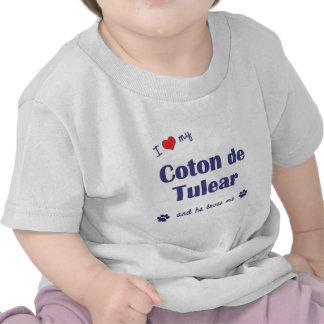 I Love My Coton de Tulear (Male Dog) Tee Shirts