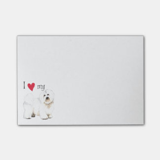 I Love my Coton de Tulear Post-it® Notes