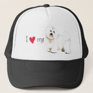 I Love my Coton de Tulear Trucker Hat
