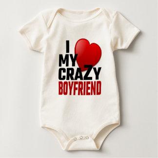 I Love My Crazy Boyfriend Bodysuit