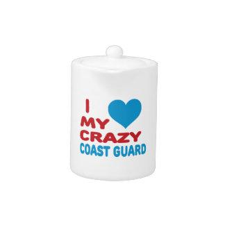 I Love My Crazy Coast Guard.
