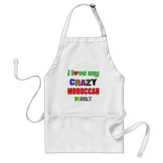 I love my crazy Moroccan Family Standard Apron