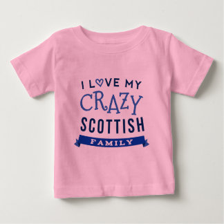 I Love My Crazy Scottish Family Reunion T-Shirt Id
