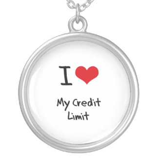 I love My Credit Limit Necklace