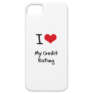 I love My Credit Rating iPhone 5 Cover