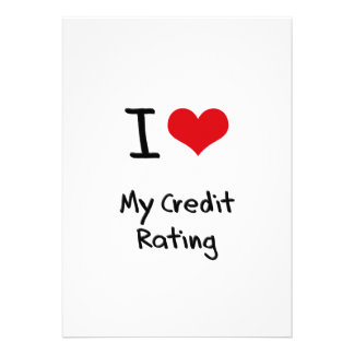 I love My Credit Rating Invite