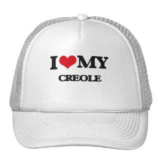 I Love My CREOLE Trucker Hats
