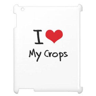 I love My Crops iPad Cases