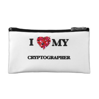 I love my Cryptographer Cosmetic Bag