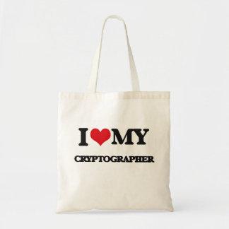 I love my Cryptographer Canvas Bag
