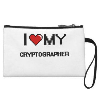 I love my Cryptographer Wristlet Clutches