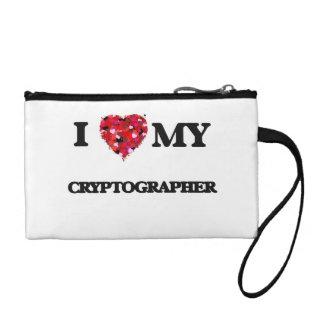 I love my Cryptographer Change Purses