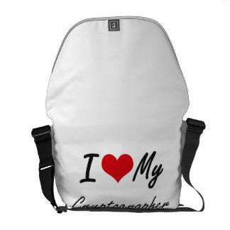 I love my Cryptographer Messenger Bag