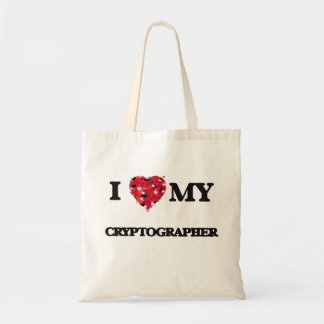 I love my Cryptographer Budget Tote Bag