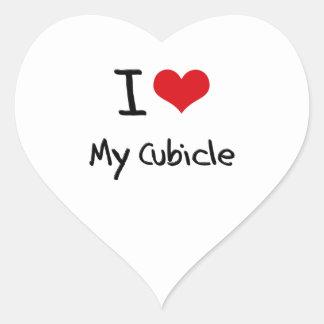 I love My Cubicle Sticker