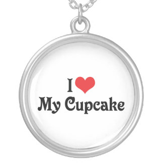 I Love My Cupcake Necklaces