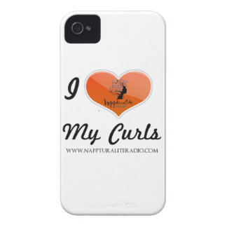 I Love My Curls iPhone Case iPhone 4 Cover