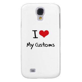 I love My Customs Samsung Galaxy S4 Covers