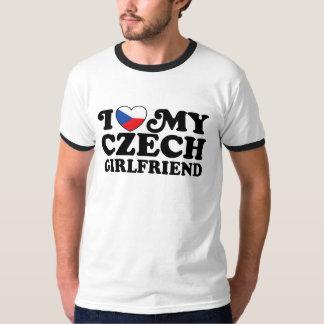 I Love My Czech Girlfriend Shirts