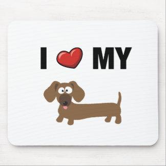 I love my dachshund mouse mat