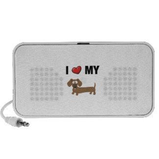 I love my dachshund iPod speakers