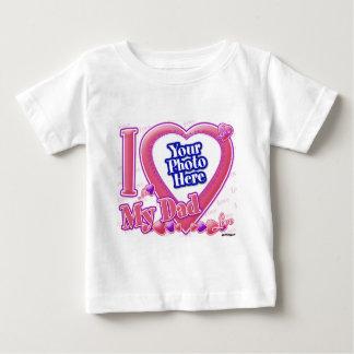 I Love My Dad pink/purple - photo Infant T-Shirt