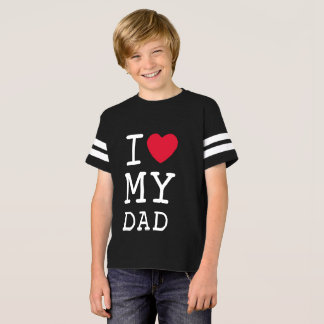 I Love My Dad Team Tee by Mini Brothers