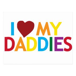 i love my Daddies Post Card
