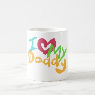 I love my Daddy Basic White Mug