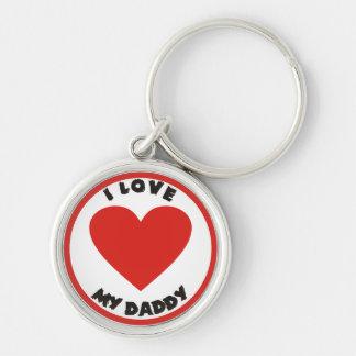 I love my Daddy Cute Keychain