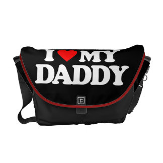 I LOVE MY DADDY COURIER BAGS