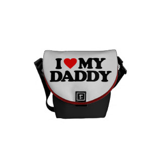 I LOVE MY DADDY COURIER BAG